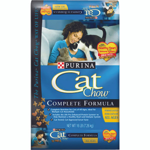 Purina 1780013415 Cat Chow Complete Formula Cat Food 16 Pound