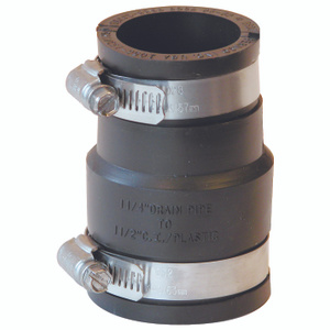 Fernco P1056-150/125 1-1/2 By 1-1/4 Coupling