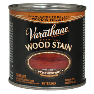 Varathane 211802 Premium Red Chestnut Premium Oil Interior Wood Stain 1/2 Pint