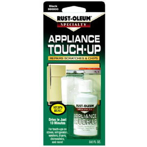 Rust Oleum 213174 Specialty Black Appliance Touch Up Paint