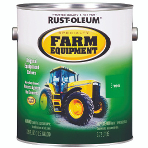 Rust Oleum 7435402 Specialty John Deere Green Farm Equipment Brush On Gallon Oil Based