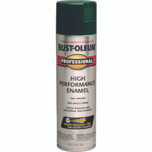 Rust Oleum 7538838 Professional Hunter Green High Performance Spray