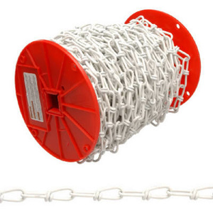 Cambell Chain PA0722027 Campbell 125 Foot 2/0 White Double Chain
