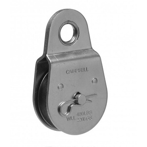 Cambell Chain T7550402 Campbell 2 Inch SS Fixed Eye Pulley