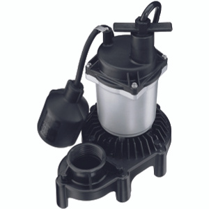 Pentair 2165/2975PC Simer 1/2 Hp Sump Pump With Float Switch