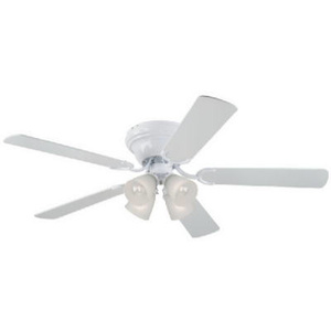 Westinghouse 78715 52 Inch Contem White Ceiling Fan