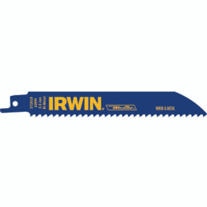 Irwin 372610 Weld Tech 6 Inch 10 Tooth Reciprocating Blade