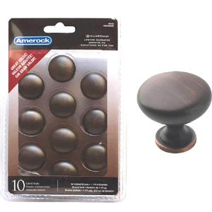 Amerock TEN53005ORB Allison Value Hardware 10 Pack Allison Value Hardware Collection 1-1/4 Inch Knobs