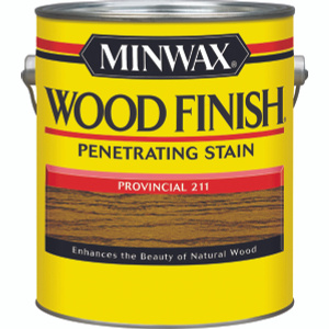 Minwax 71002 Provincial Wood Finish Penetrating Stain Gallon Oil Based