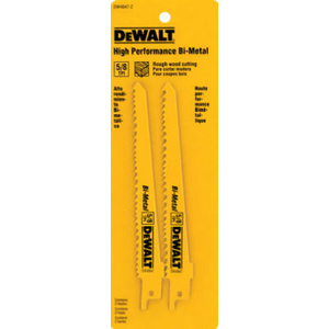 DeWalt DW4847-2 6 Inch Reciprocating Saw Blade Pack Of 2