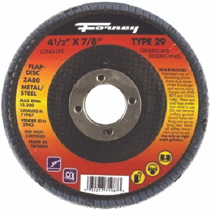 Forney 71987 4.5X7/8 80G Flap Disc