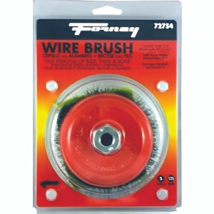 Forney 72754 5 Inch Crimp Wire Cup Brush