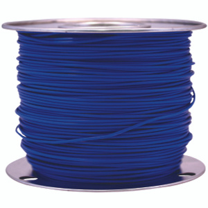Coleman Cable 14-100-12 100 Foot Spool 14 Gauge Primary Wire Blue