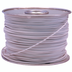 Coleman Cable 18-100-17 100 Foot Spool 18 Gauge Primary Wire White