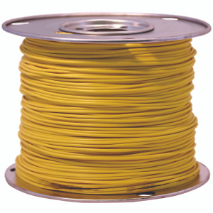 Coleman Cable 14-100-14 100 Foot Spool 14 Gauge Primary Wire Yellow