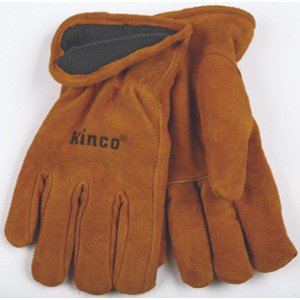 Kinco 50RL-L Full Suede Cowhide Thermal Lined Gloves Large