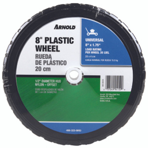 Arnold 490-322-0003 8 By 1 3/4 Inch Plastic Universal Wheel