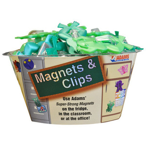 Adams 1312-53-3848 Powerful Frog Magnet Clips