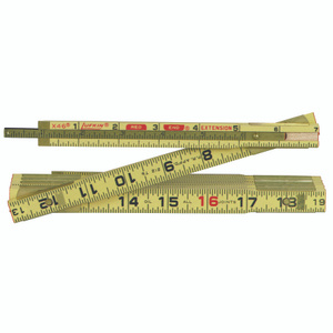 Lufkin X46N 6 Ft By 5/8 Inch Wood Exterior Folding Ruler
