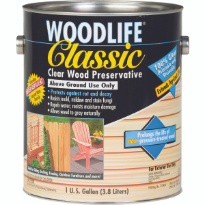 WoodLife 00903 Woodlife Classic Clear Wood Preservative Gallon