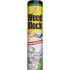 Easy Gardener 1041 Weed Block 3 Foot By 50 Foot 18 Mil Landscape Fabric
