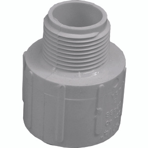 Genova 30404 1-1/4 By 1 Inch Reducing Male Adapter Slip X MIP