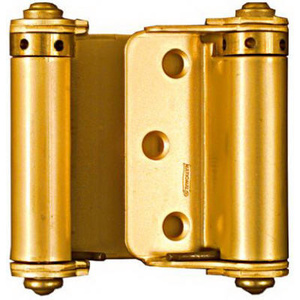 Stanley National N115-303 National 3 Inch Dull Brass Finish Double Acting Spring Hinges