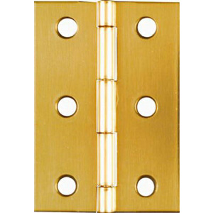 Stanley National N211-391 National 2-1/2 By 1-3/4 Inch Bright Brass Finish Hinge