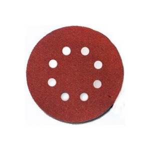 Porter Cable 735800805 5 Inch 8 Hole Hook And Loop Aluminum Oxide 80 Grit Coarse 5 Pack