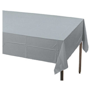 Creative Converting 01203 54X108 SLV Table Cover