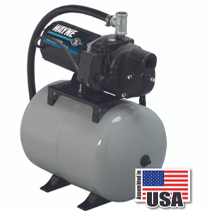 Wayne Water SWS50-8.5FX 1/2 Horsepower Precharged System With 8 1/2 Gallon Tank