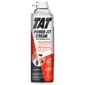 Tat HG-31112 Roach And Ant Jet Stream With Power Spout Pest Killer 12 Ounce