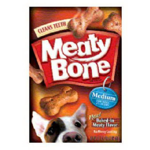 Smuckers 10041522439104 Meaty Bone 64 Ounce Medium Dog Biscuit