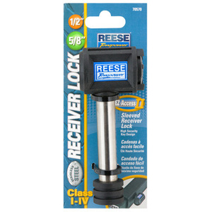 Reese Towpower 7057030 SS1/2 5/8 Receiver Lock