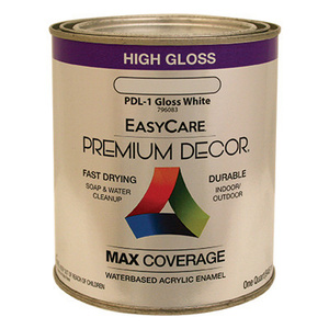 General Paint PDL1-QT Premium Decor Quart White Enamel