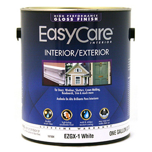 General Paint EZGX1-GL EasyCare Gallon Gloss White Paint