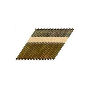 National Nail 0601152 Pro Fit 2-3/8 Inch By 0.113 Hot Dipped Galvanized Ring Shank Paper Collated Framing Nails (Pack Of 2000)