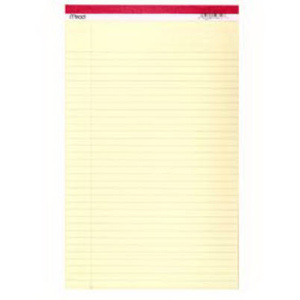 Mead 59612 50 Ct 8 1/2 By 14 Legal Pad