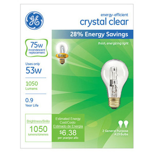 GE Lighting 78797 GE2PK 53W CLR Halo Bulb