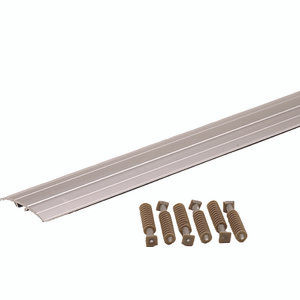 MD Building Products 46133 72 Inch Silver Floor Transition