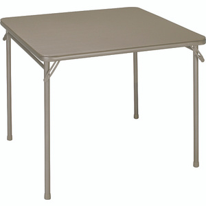 Cosco 14-619-ANT2 34 By 34 Inch Sand Fold Table