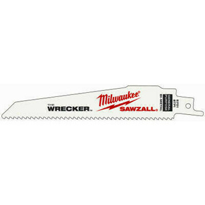 Milwaukee 48-00-5701 The Wrecker 6 Inch 8T Reciprocating Blade