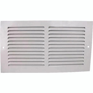 Mintcraft 1RA1206 Return Grille White 12 Inch By 6 Inch