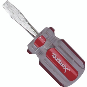 ToolBasix TB-SD03 Screwdriver Tb 1/4 Inch By 1-1/2 Inch Long Slotted