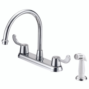 Boston Harbor F8F10037CP Faucet Kitchen 8In 2Lever Chrm