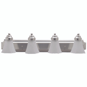 Boston Harbor RF-V-042-BN 4 Light Satin Nickel Vanity Fixture