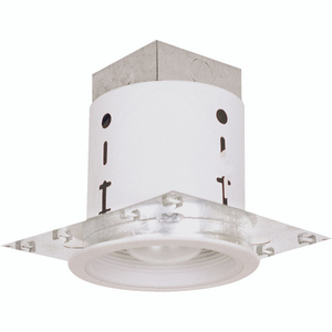Power Zone 30001WH-3L Mini Recess Can With White Baffle