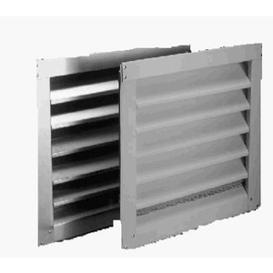 Air Vent 81214 White Aluminum Louver 12 By 18 Inch