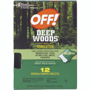 Off 54996 Deep Woods Off 12 Ct Deepwood Towelette