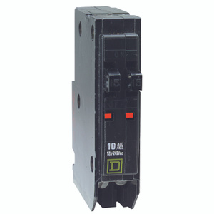 Square D QOT1515CP QO 15 Amp Single Pole Tandem Breaker